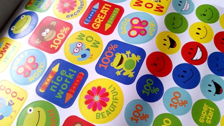 Children's Reward Stickers
