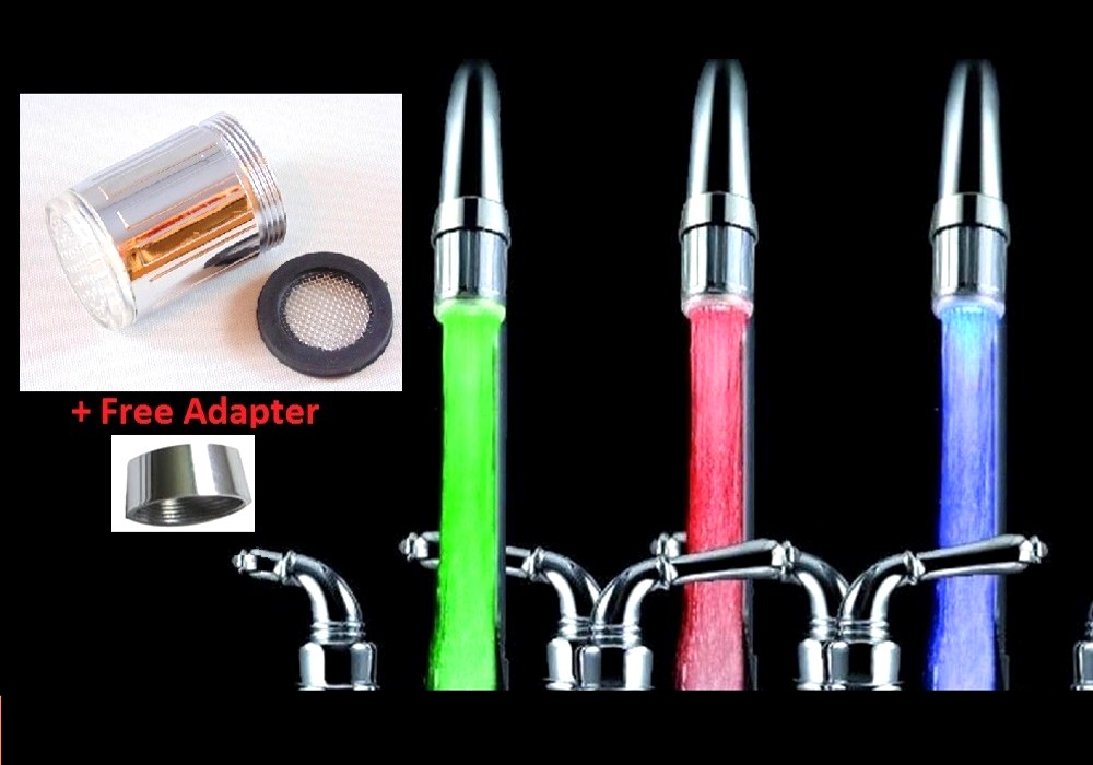 7 Colour Changing LED Water Faucet