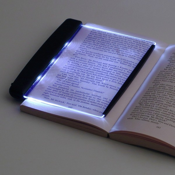 led night book reading lamp. Black Bedroom Furniture Sets. Home Design Ideas