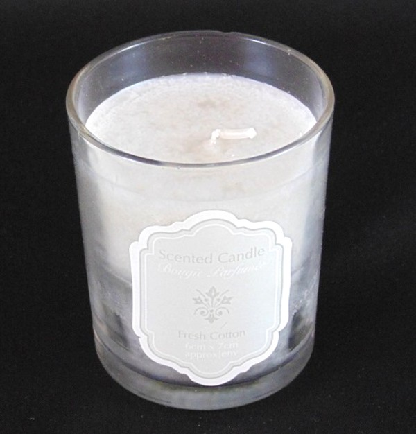 Fresh Cotton Scented Candle