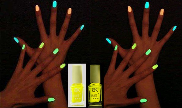 Glow In The Dark Yellow Nail Polish