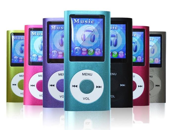 Blue 8GB MP4 Player