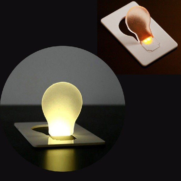 Wallet Card Light Bulb