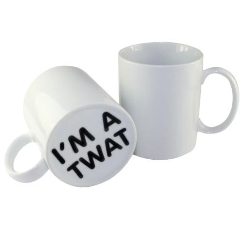 Funny ''I'm a Twat'' Gift Mug
