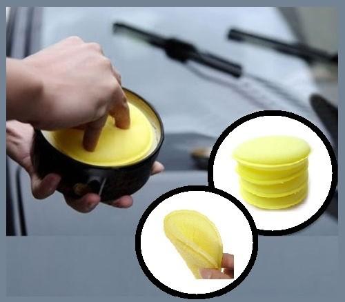 4x Yellow Wax Pads