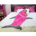 Pink Shark Tail Blanket