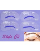 Eyebrow Shaping Stencil Set C5