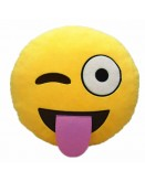 Tongue Emoji Cushion