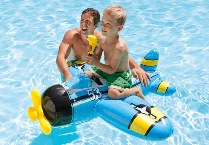Pool Water Gun Plane