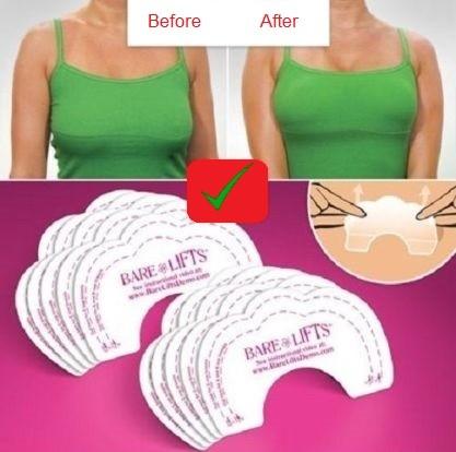 10x Bare Lift Breast Tape