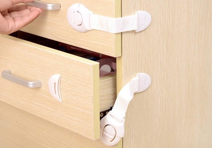 Child Cabinet Drawer Safety Lock