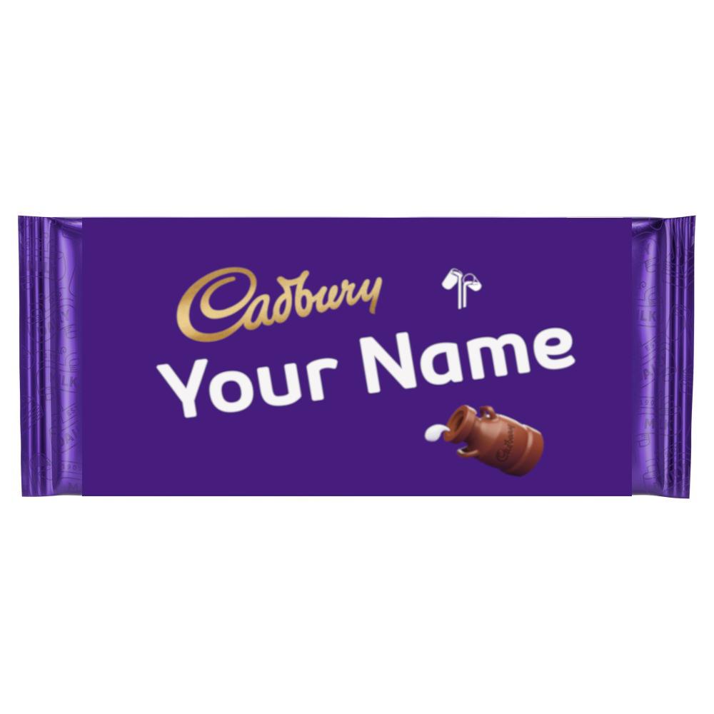 Custom Cadbury's Milk Chocolate