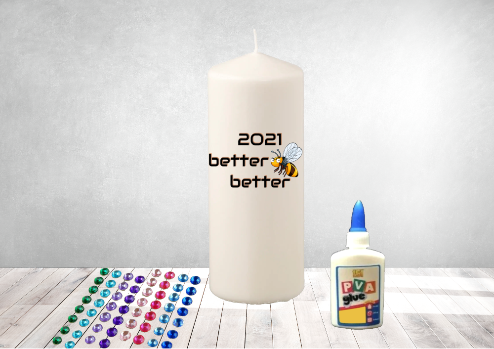 DIY 2021 Home Candle Decorating Kit