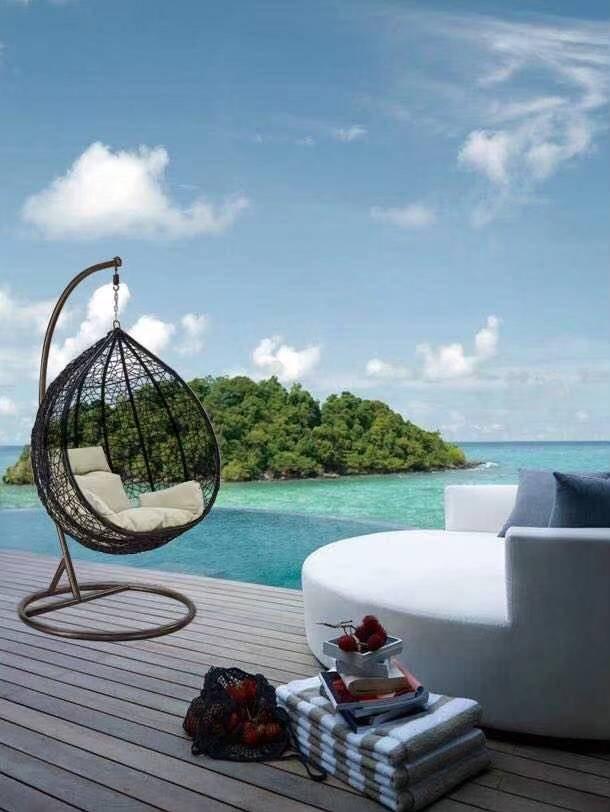 Outdoor Garden Egg Chair Swing