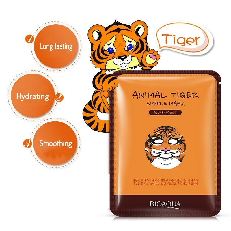Tiger Selfie Facial Mask