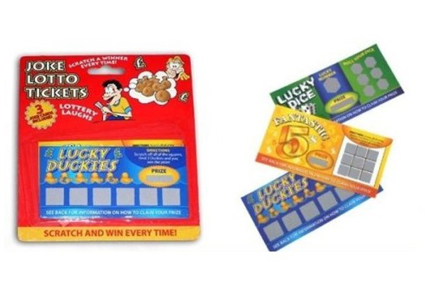 Fake Winning Lotto Tickets