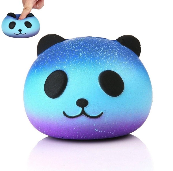 Galaxy Panda Stress Reliever Squishy Toy