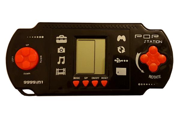 Retro Handheld Tetris Game Console