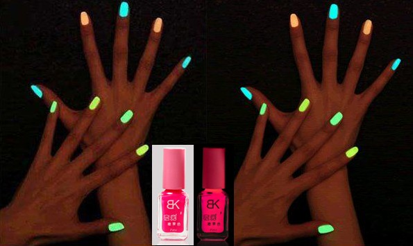 Glow In The Dark Pink Nail Polish