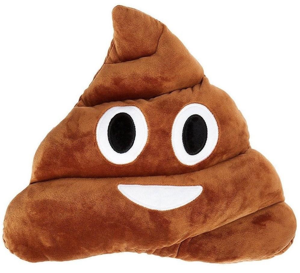 Poo Emoji Cushion