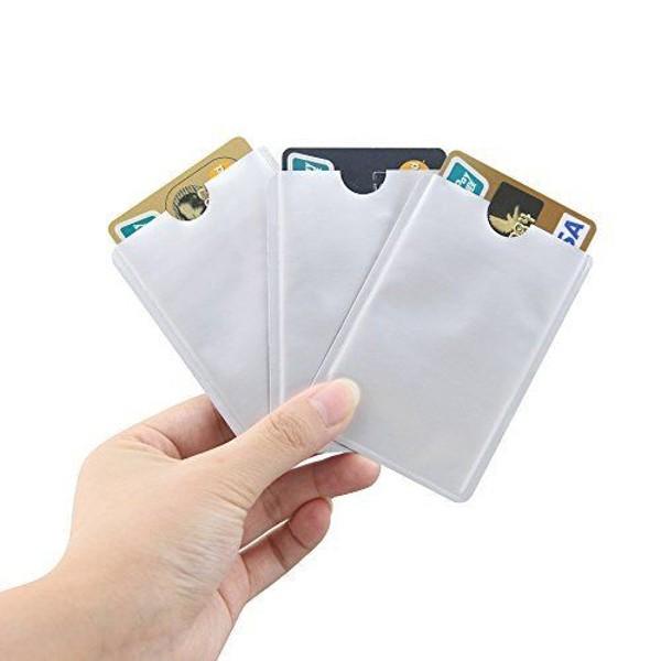 RFID Blocking Credit Card Sleeves