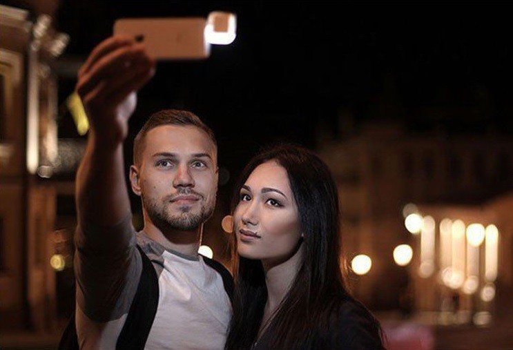 Selfie Flashlight - Black
