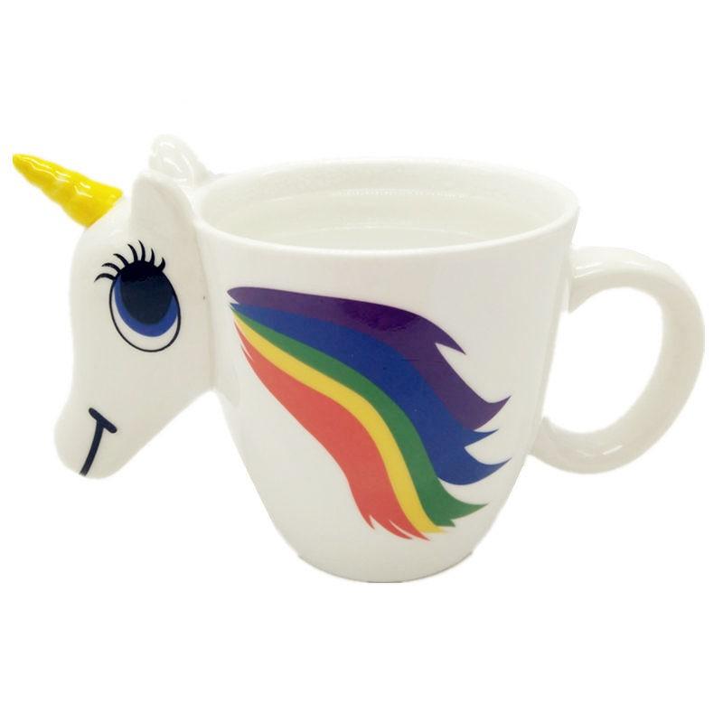 Colour Changing Unicorn Mug