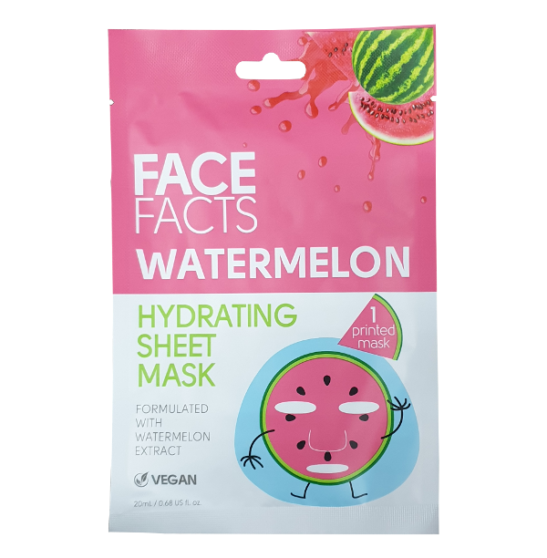 Vegan Watermelon Mask