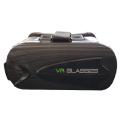 Sleek Black VR Box Headset