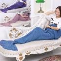 Crocheted Mermaid Blanket