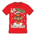 Go Pluck Yourself Xmas T-Shirt