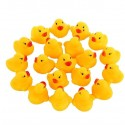 10 Mini Yellow Bath Duck