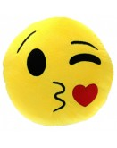 Blowing Kiss Emoji Cushion