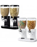 Double Dry Food Cereal Dispenser