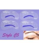 Eyebrow Shaping Stencil Set C5