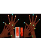 Glow In The Dark Orange Nail Polish