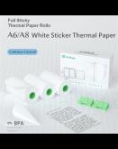 3x Thermal Photo Printer Sticker Rolls
