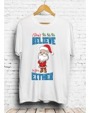 Santa Christmas T-Shirt White
