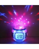 LED Star Projector Clock