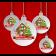Santa 2020 Christmas Tree Bauble (Design 2)